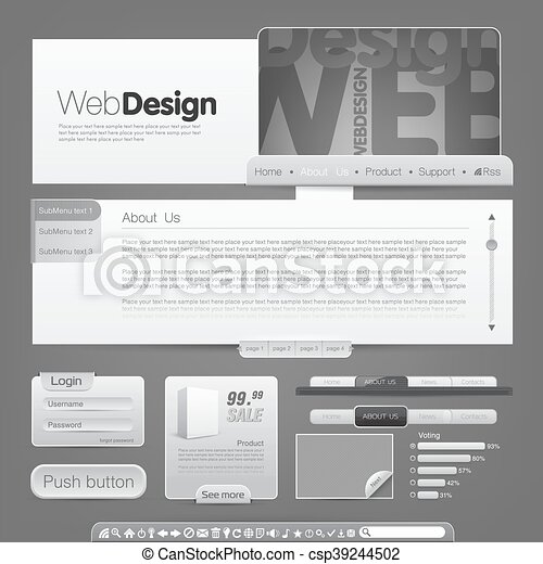 Website template - csp39244502