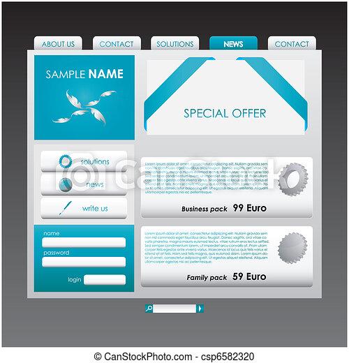 Website template - csp6582320