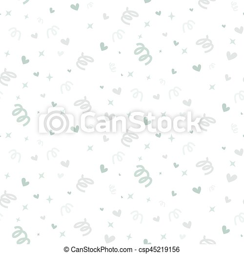 Wedding abstract seamless pattern in pastel soft colors. - csp45219156