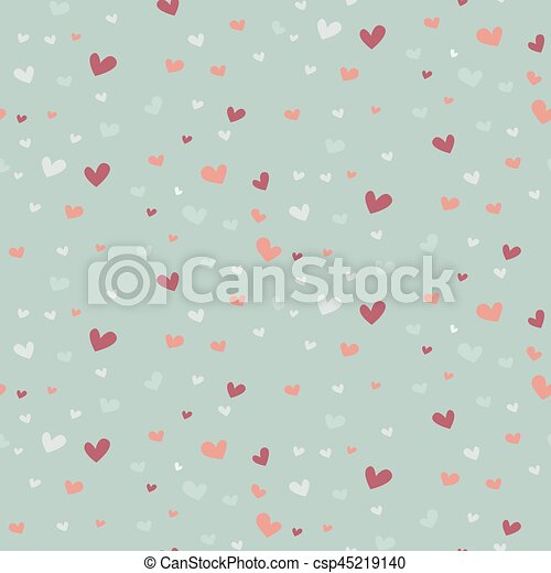 Wedding abstract seamless pattern in pastel soft colors. - csp45219140