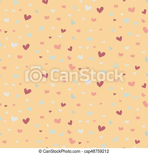 Wedding abstract seamless pattern in pastel soft colors. - csp48759212