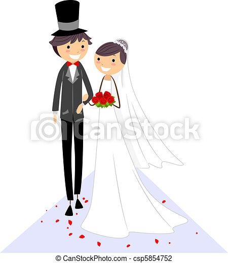 Wedding Aisle - csp5854752