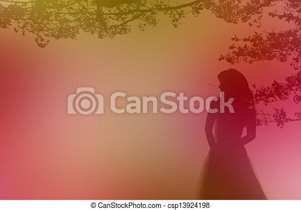 Wedding background - csp13924198