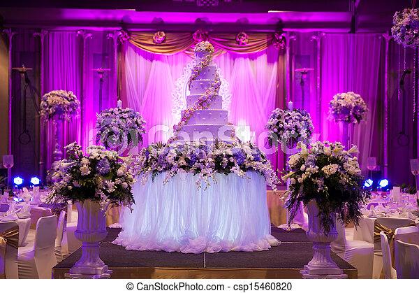 Wedding Banquet. - csp15460820