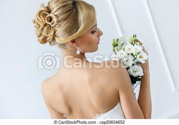 Wedding. Beautiful bride - csp20634652