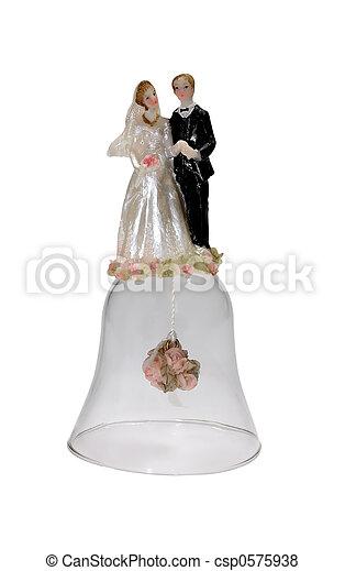 Campana de boda - csp0575938