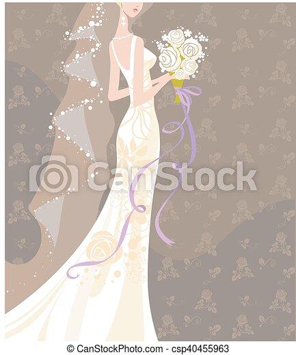 Wedding  bouquet - csp40455963
