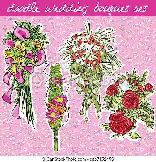 wedding bouquet - csp7152455