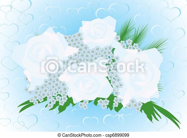 Wedding bouquet - csp6899099