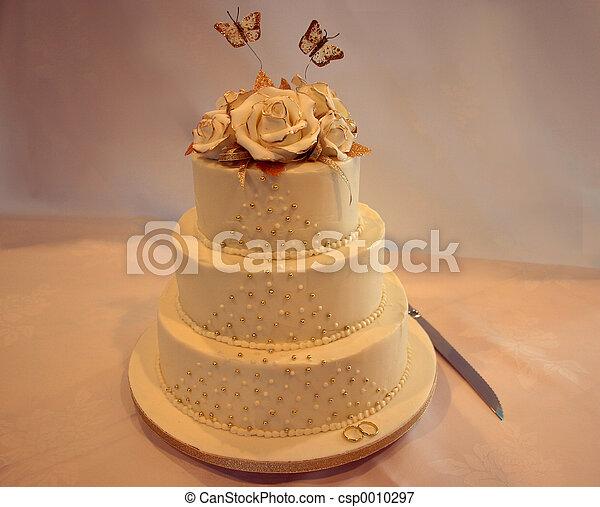 Wedding cake - csp0010297