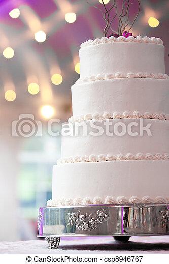 wedding cake - csp8946767