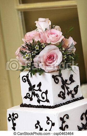Wedding cake - csp0463464