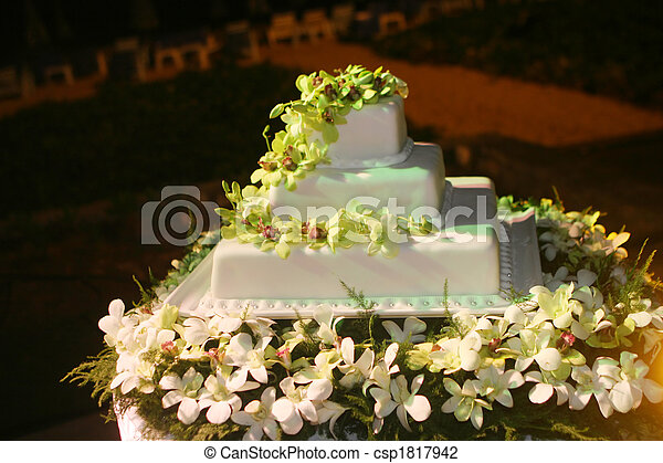 Wedding cake - csp1817942