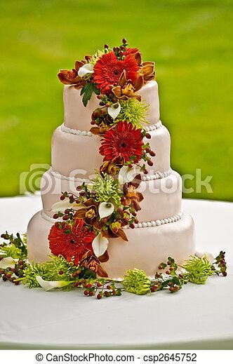 Wedding cake - csp2645752