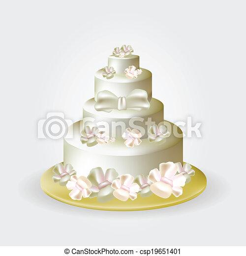Wedding Cake - csp19651401