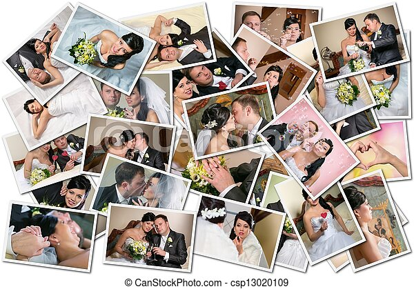Wedding collage  - csp13020109