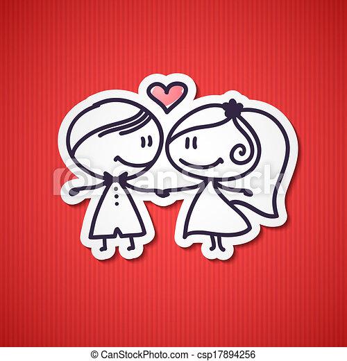 wedding couple - csp17894256