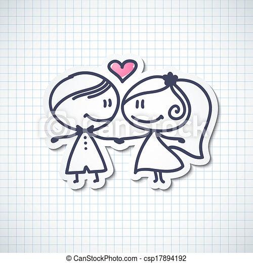 wedding couple - csp17894192