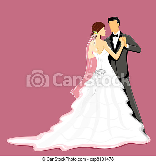 Wedding Couple - csp8101478