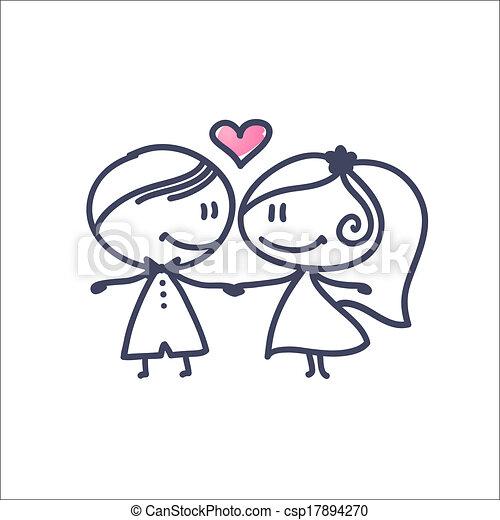 wedding couple - csp17894270