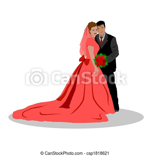 wedding couple isolated clipart search illustration drawings and rh canstockphoto com wedding couple clipart free wedding couple clipart free download