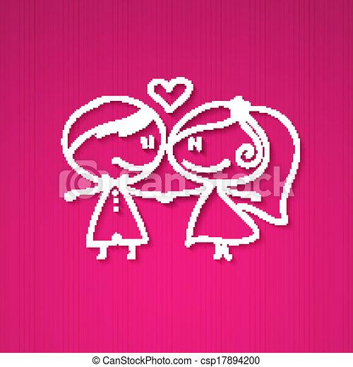 wedding couple - csp17894200