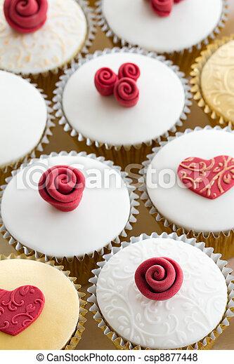 Wedding cupcakes - csp8877448