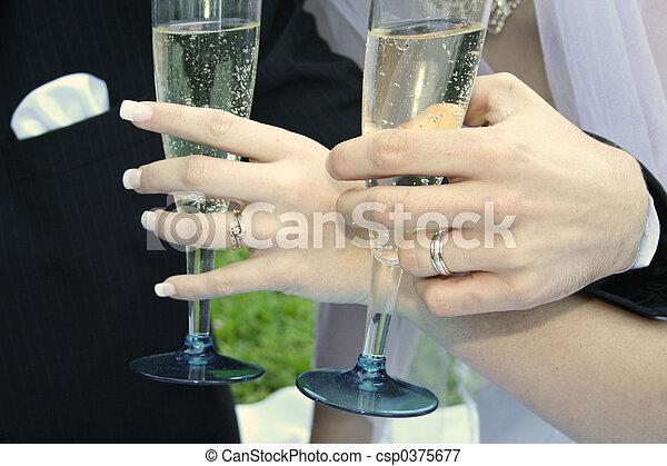 Wedding Day Drinks - csp0375677