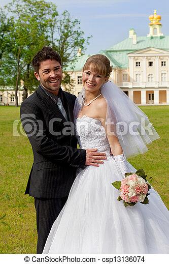 wedding day - csp13136074