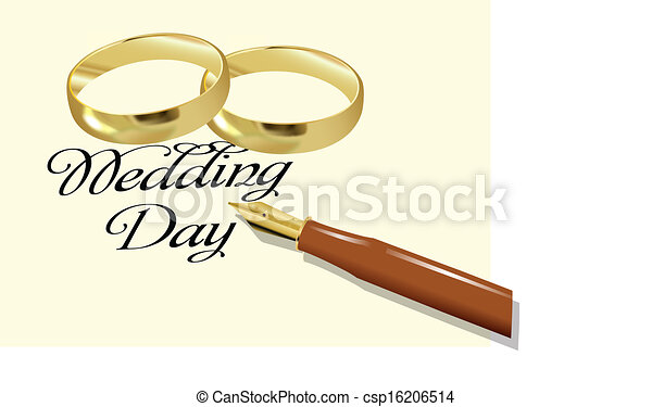 wedding day - csp16206514