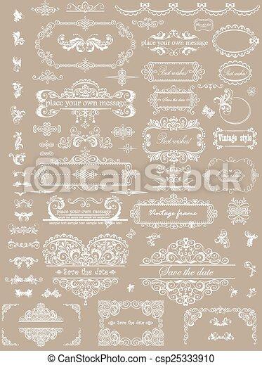 Wedding design - csp25333910