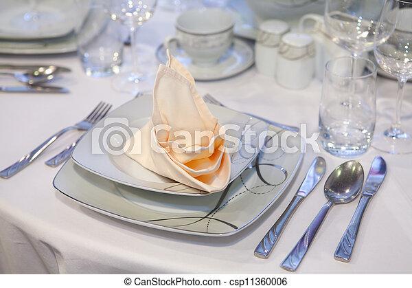 wedding dinner - csp11360006