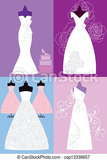 Wedding dresses, bridal gowns. Wedding gowns, bridal dresses ...