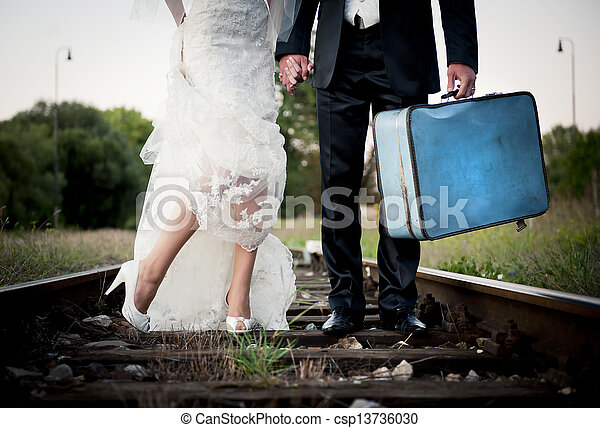 Wedding feet - csp13736030