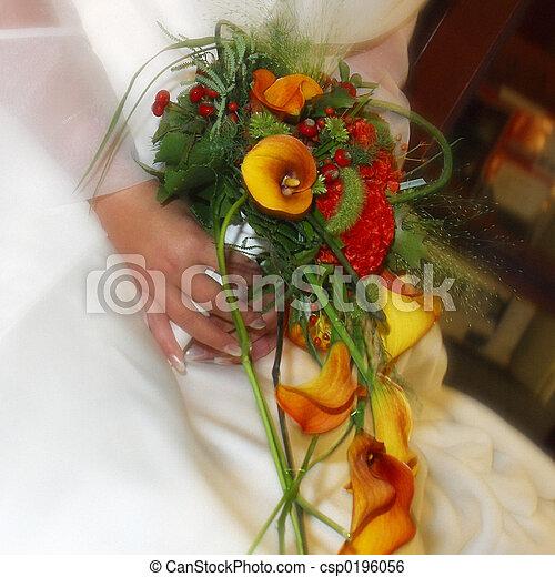 wedding flowers - csp0196056