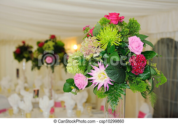 Wedding flowers - csp10299860