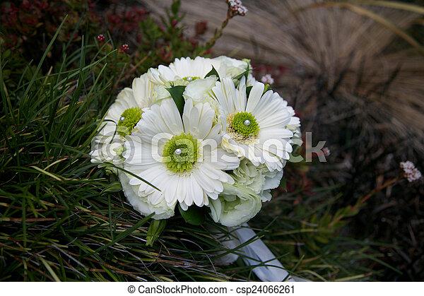 Wedding flowers. - csp24066261