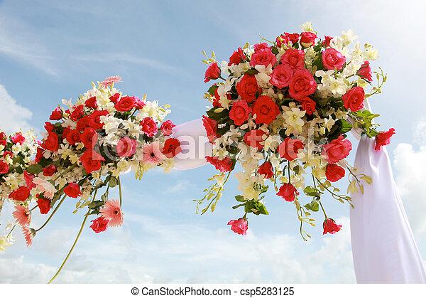 Wedding flowers. - csp5283125