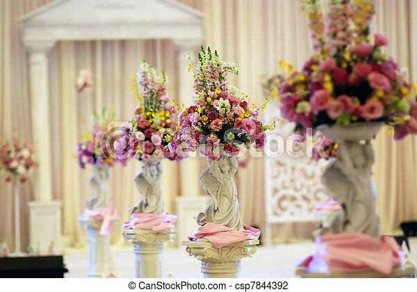 Wedding Flowers - csp7844392