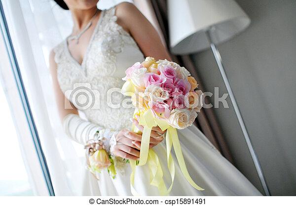 Wedding flowers - csp15891491