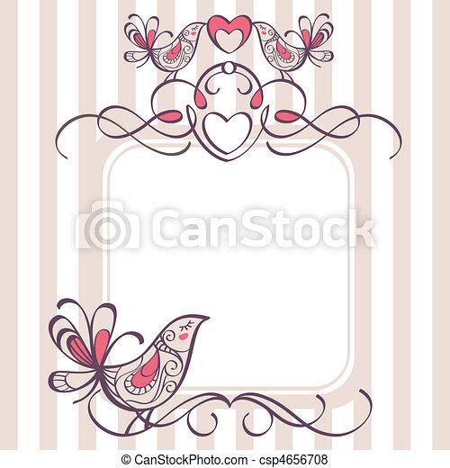 wedding frame - csp4656708