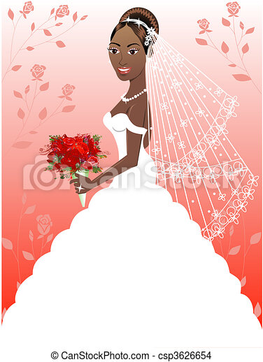 Wedding Gown 4 - csp3626654
