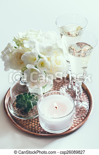 wedding home decor - csp26089827