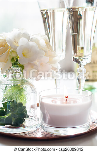 wedding home decor - csp26089842