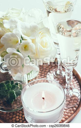 wedding home decor - csp26089846