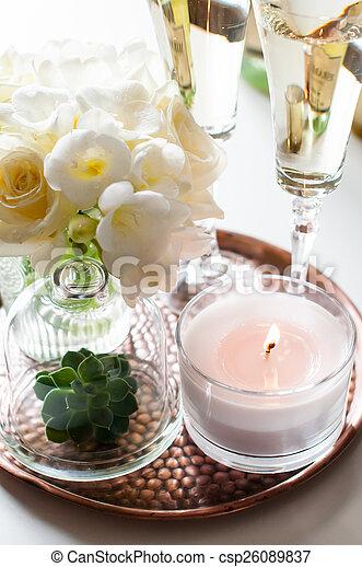 wedding home decor - csp26089837