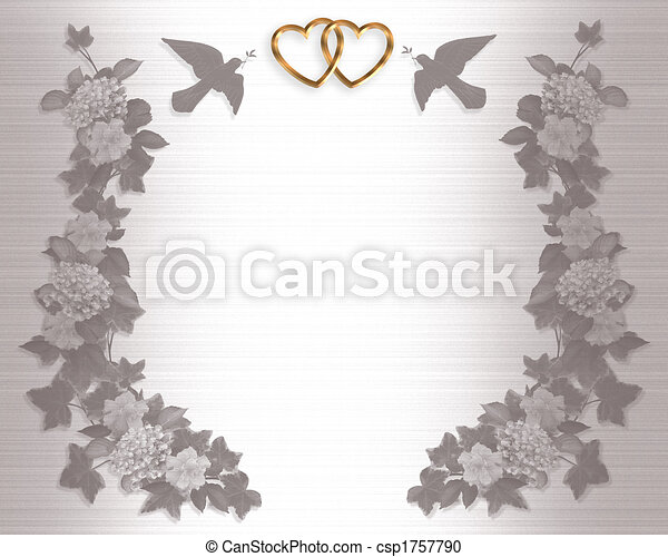 wedding invite background