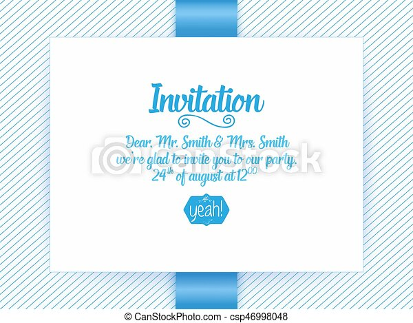Wedding Invitation Card Vector Invitation Card With Abstract Background And Elegant Frame With Text Decorated With 3d Flowers