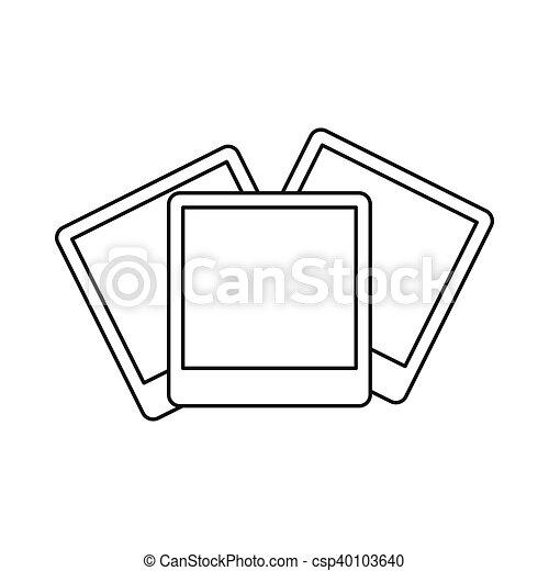 wedding invitation cards icon outline style wedding invitation