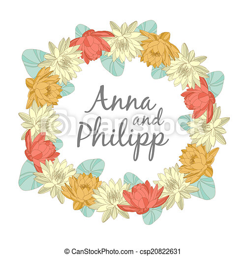 Wedding invitation cards with floral elements vector wedding wedding invitation cards with floral elements csp20822631 stopboris Gallery